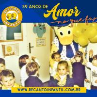 39 anos especializados em Educação Infantil